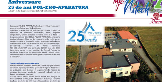 News about our 25th anniversary
