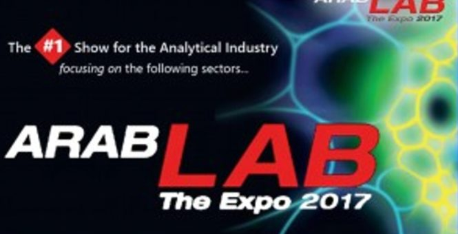 ArabLAB 2017 Stand No. 469 – Hall S1