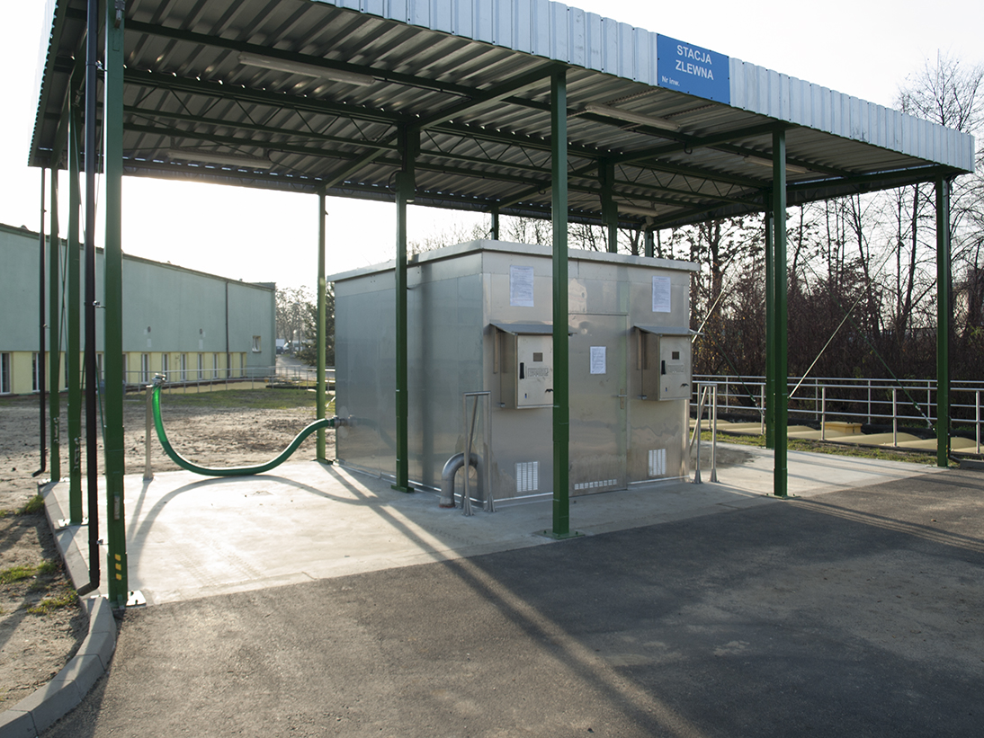 FEKO+ Waste Water Receipt Station Sosnowiec
