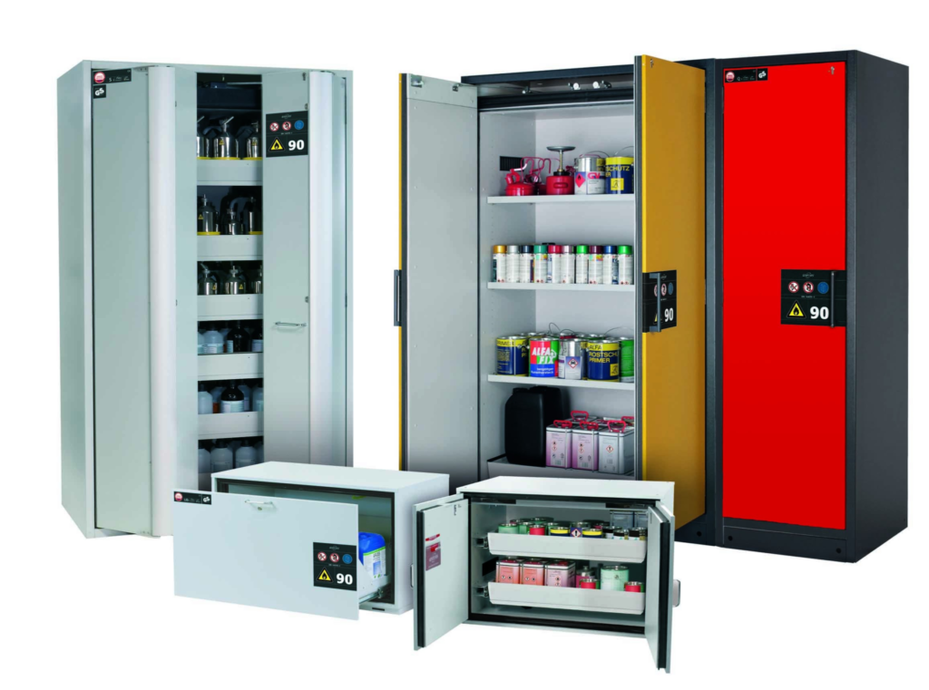 asecos-safety-storage-cabinet-range