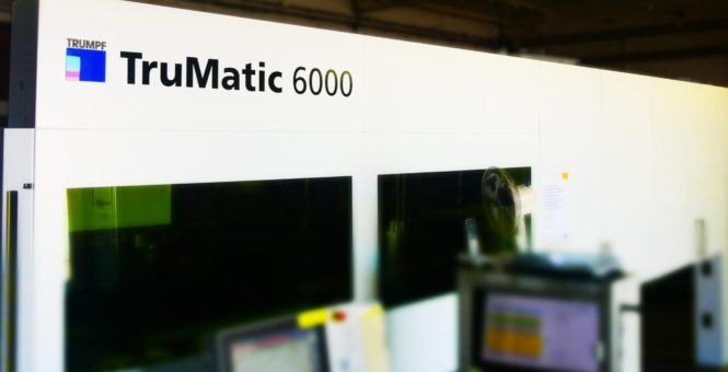 NEW TRUMATIC 6000 FIBER MACHINE