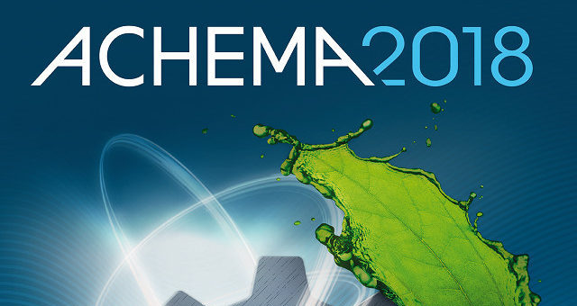 achema 2018 is coming