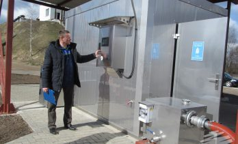 FEKO+ Waste Water Receipt Station in Belarus.